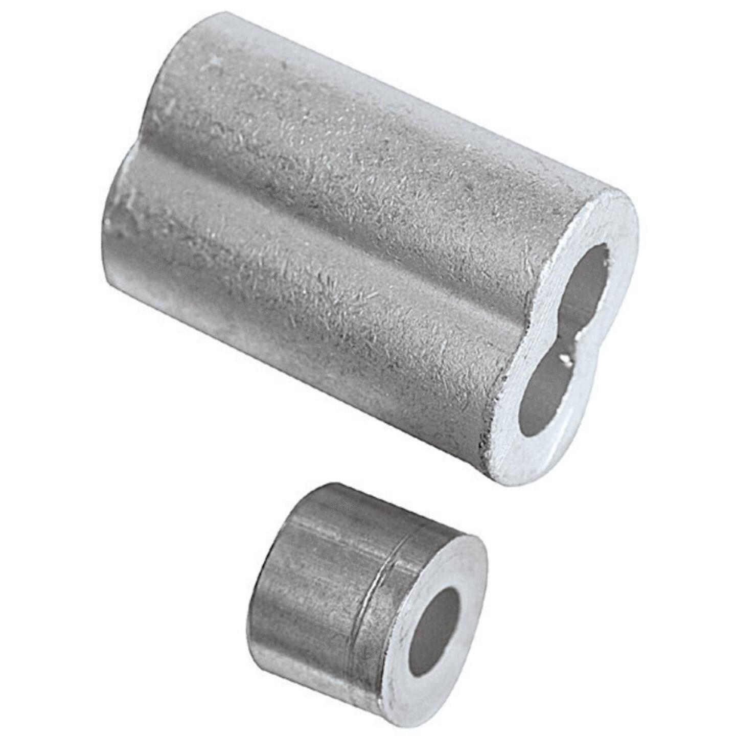 National 3/16 In. Aluminum Garage Door Ferrule & Stop Kit Image 2