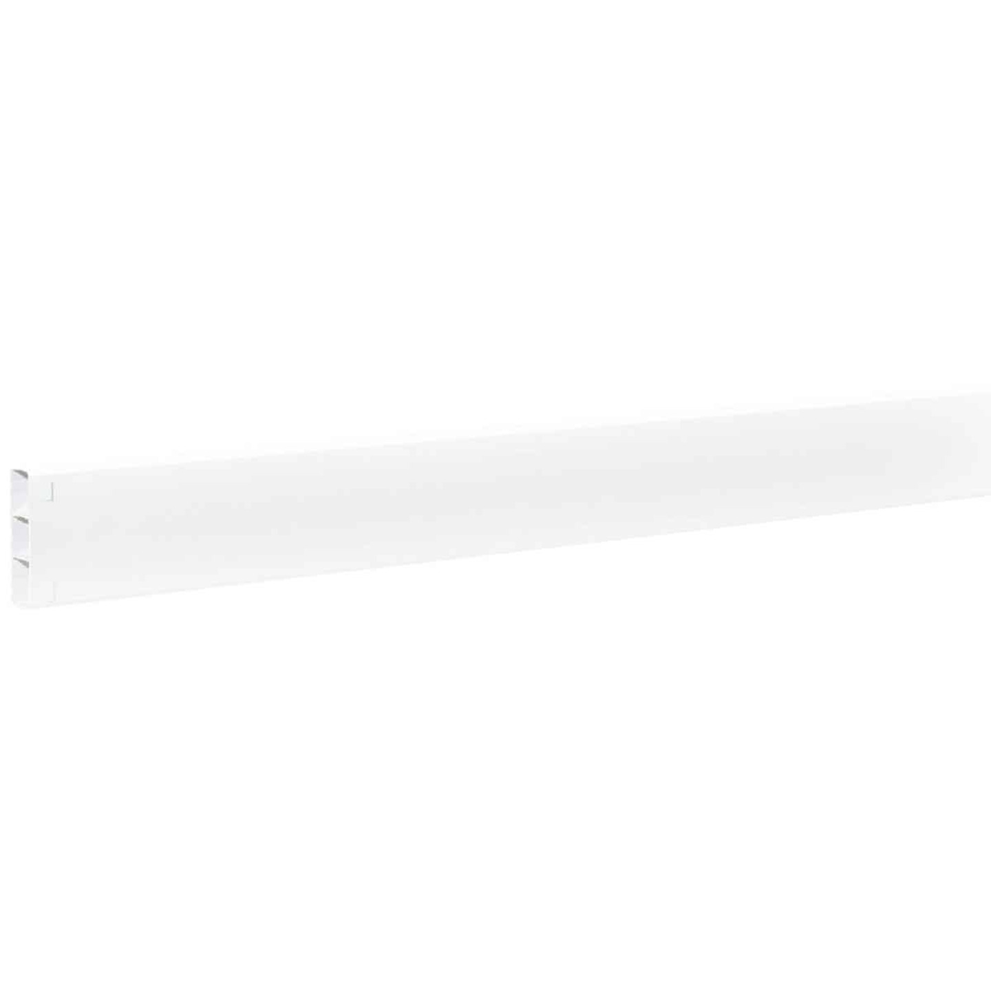 Outdoor Essentials 2 In. x 6 In. x 192 In. White Vinyl Fence Rail Image 2