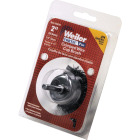 Weiler Vortec 2 In. Professional Shank-Mounted Drill-Mounted Wire Brush Image 2