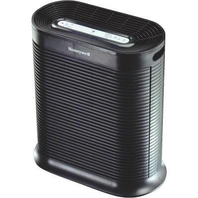 Honeywell True HEPA 456 Sq. Ft. Black Tabletop Large Room Air Purifier