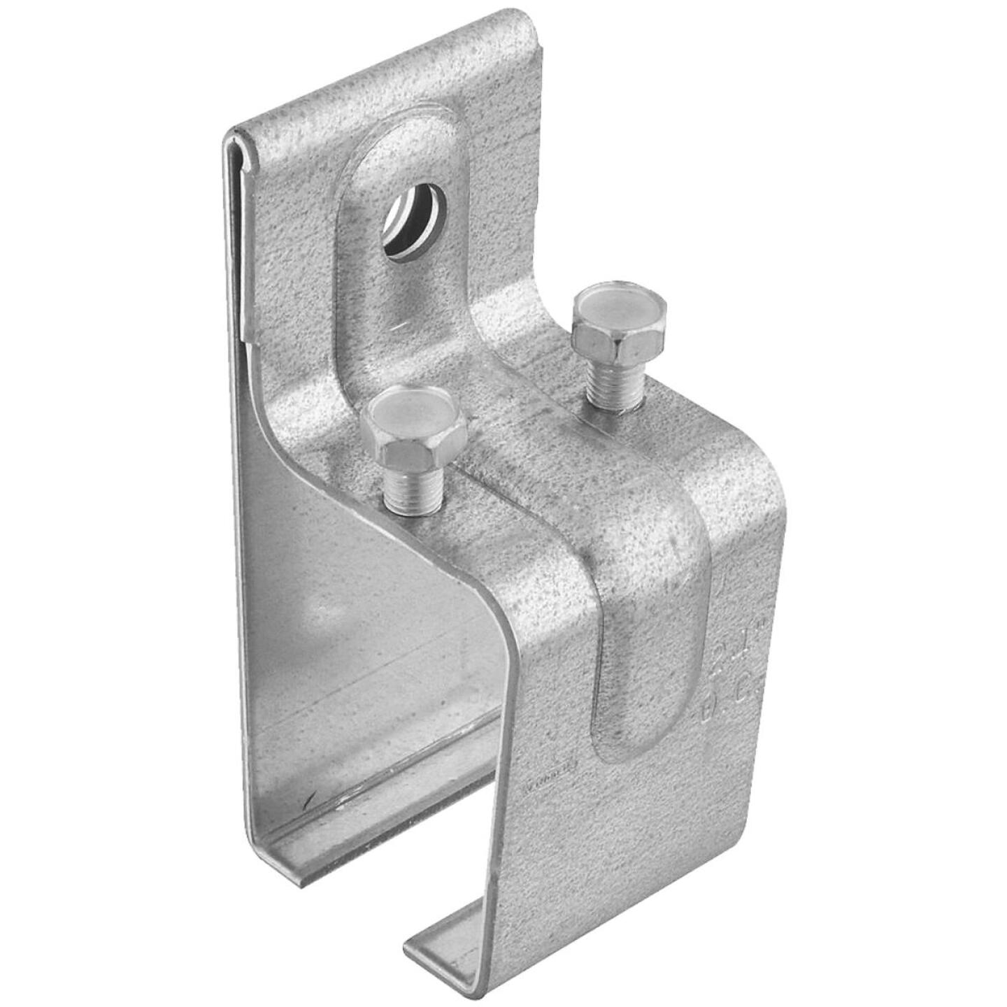 National Galvanized Single Splice Box Rail Barn Door Bracket Image 1