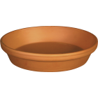 Ceramo 4 In. Terracotta Clay Standard Flower Pot Saucer Image 1